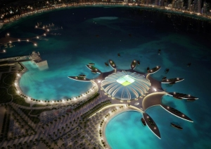"""How to Build for the World Cup: Albert Speer, Jr. and Qatar's Dream Football City"""