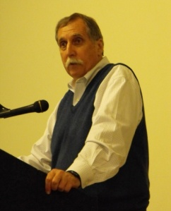 McMahon at a conference in Maine.