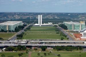 Modern design in Brasilia, the capital city of Brazil.