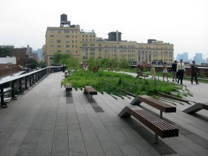 High Line Walking Path