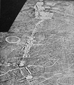 """Albert Speer's Plan for Berlin to be rebuilt as """"Germania"""""""
