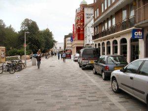 New Road, in Brighton.