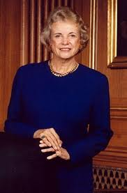 Justice Sandra Day O'Connor  http://en.wikipedia.org/wiki/Sandra_Day_O%27Connor