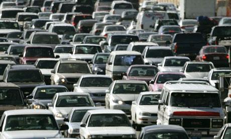 traffic jam in america - dan chung - 2009