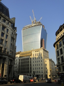 Walkie Talkie Tower. Photo via flickr.com 2013