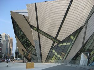 Bold accentuation of Toronto's cultural amenities at the Royal Ontario Museum. http://upload.wikimedia.org/wikipedia/commons/thumb/a/a9/ROM_Crystal.jpg/1280px-ROM_Crystal.jpg, accessed November 29, 2013.