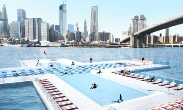 Another view of the + POOL.  Courtesy +POOL Kickstarter page. http://kck.st/11VY7Sd