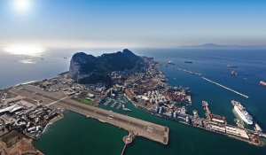 Gibraltar International Airport, British Overseas Territory - 12/01/2013