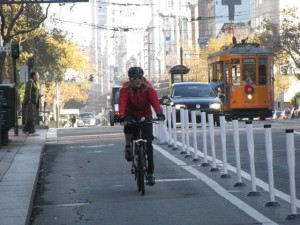 San fransisco bike lane