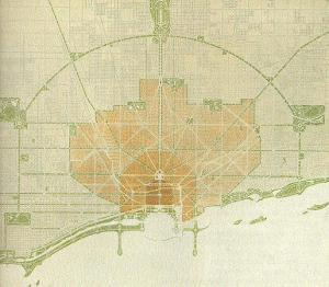 Plan of Chicago, 1909 (Wikipedia, 2014)