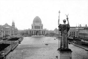 The Court of Honor and Grand Basin, 1893 Chicago Worlds Fair (Wikipedia 2014)