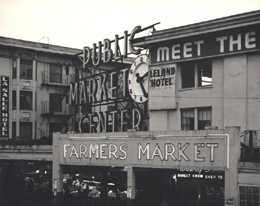 Pike Place Market, circa 1960, accessed 2/18/2014, historylink.org