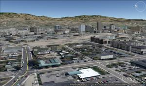 Boise Rendering, Google Earth 2013