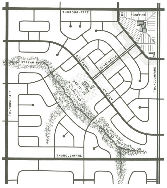 neighborhood plan - 1963