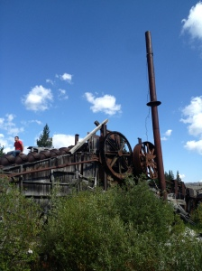 Dilapidated Steam Dredge at Warren Idaho - Sean Kelly