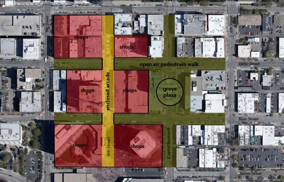 Boise City Center - overlay